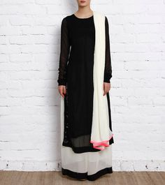 short kameez with palazzo - Google Search