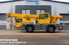 Used telescopic crane available at Pfeifer Heavy Machinery. Item Number PHM-Id 07534, Manufacturer LIEBHERR, Model LTM1030-2, Year of construction 2000, Kilometers 288481, Hours carrier 9656, Hours superstructure 11696, Loading (lifting) capacity (kg) 30000, Boom length maximum (m) 30, Fuel Diesel. See more at www.pfeiferheavymachinery.com.