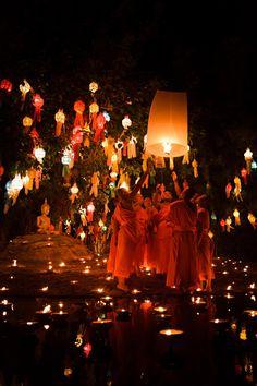 Chiang Mai lantern festival, Thailand