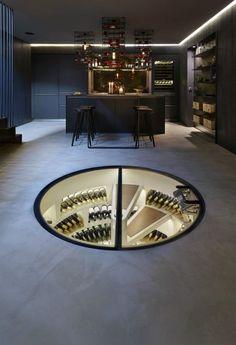 Spiral wine cellar 900x1317 Any Connoisseurs Dream: Modern Wine Cellar Designs. #vinoplease