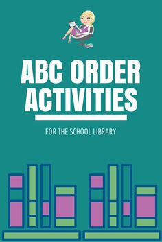 Check out these free ABC Order activities for the school library! Kindergarten and Grade Activities ABC Order Cards from… Kindergarten Library Lessons, School Library Lessons, Library Lesson Plans, Middle School Libraries, Elementary School Library, Library Skills, Elementary Teaching, Library Games, Library Science