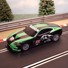 New arrival for sale! Scalextric 1:32 C... See it here http://www.actionslotracing.co.uk/products/scalextric-1-32-car-c3241-green-black-jaguar-xkr-gt3-33?utm_campaign=social_autopilot&utm_source=pin&utm_medium=pin
