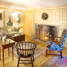 Image result for 1920 american colonial revival early american interior style