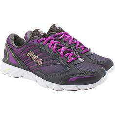 Fila-Ladies-COOLMAX-Fresh-Lightweight-Running-Sneakers-Shoes-Purple