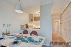 Ihanainen.com sisustussuunnittelu. Lemmikki-kodin keittiö ja ruokailutila. #sisustus #sisustussuunnittelu #tampere #kitchen