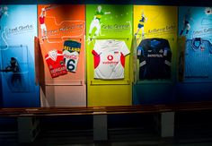 GAA-My GAA Hero Exhibition | New temporary exhibition space for kids at the GAA Museum, Croke Park | Designer: Creative Inc. | Image 5 of 9