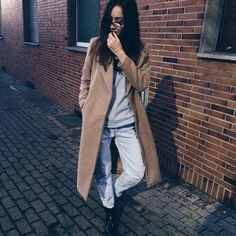 thefashioncuisine | missguided camel coat