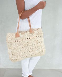 Beach bag,Straw Bag,Straw Beach Bag, Beach Tote, Leather Bag,Summer Bag, Basket by MOOSSHOP on Etsy https://www.etsy.com/listing/155961417/beach-bagstraw-bagstraw-beach-bag-beach