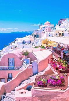 Santorini, You could go to the same destination as everyone else OR you could go to an https://www.exquisitecoasts.com/ destination. You choose! #Beaches #bestbeachesintheworld #exquisitecoasts