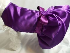 Dog Dress Custom Bridesmaid Dog DressMatch your by RockinDogs, $49.95 - And here is Roo's potential bridesmaid's dress.