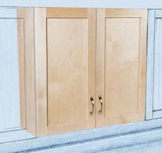 Constructing Upper Kitchen Cabinets