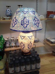 Secret handmade on camel skin exclusive lamp with wonderful design.
