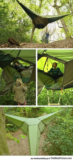 Treehouse Tent - The Meta Picture