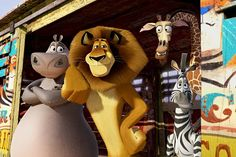 """Madagascar 3: Europe's Most Wanted"" pushes cartoon mayhem to its insane apogee. http://ti.me/LmcmNk"