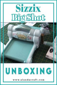 If you are thinking of getting a Sizzix Big shot you will probably want to know what you are getting. In our video, we show you what comes in the box when you purchase a Sizzix Big Shot Die Cutting and Embossing Machine. Embossing Machine, Big Shot, Die Cutting, Card Stock, Diy Ideas, Shots, Tutorials, Craft, Box