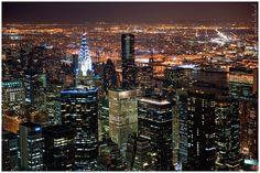 New York Skylights III by Maria Netsounski, via 500px