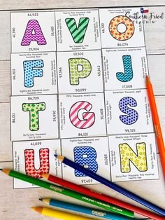 Puzzle scrambles are a fantastic tool to use in the classroom! Critical thinking is embedded in each puzzle scramble, and students look at them as games so they don't even realize they are learning and practicing! And they are great to use again and again. Win-win! Irregular Nouns, Puzzle Organization, Classroom Hacks, Picture Letters, Maths Puzzles, Multiplication Facts, Formative Assessment, Vocabulary Words, Colored Paper