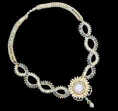Alexandra's necklace by Cielo Design, via Flickr