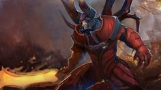 Lucifer Doom Dota  Hd Wallpaper X Wallpaper Full Hd Wallpaper