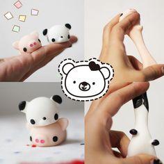 1.0AUD - Mochi Cute Soft Animal Squeeze Stretch Compress Squishy Relief Decompression Toy #ebay #Electronics