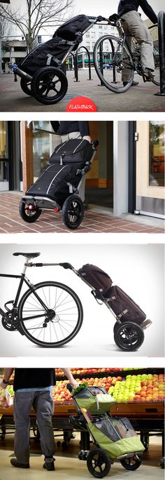TRAVOY BIKE COMMUTER TRAILER | BY BURLEY