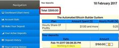 Automatic Bitcoin Builder #The_Downliner