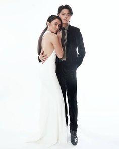 Just married 💙 Filipino, Star Magic Ball, Daniel Padilla, Kathryn Bernardo, Just Married, Formal Dresses, Wedding Dresses, Style, Abs