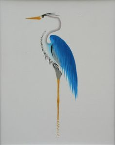 blue heron tattoo - Google Search