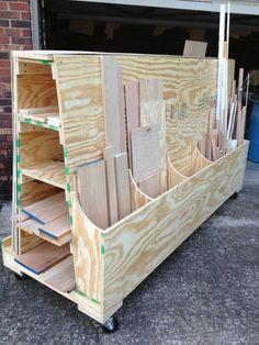 Easy to build Lumber Cart / Rack (Inspiration)
