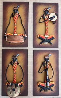 female-tribal-wall-hanging Clay Wall Art, Mural Wall Art, Hanging Wall Art, Clay Art, Rajasthani Art, Rajasthani Painting, African Art Paintings, Madhubani Art, Africa Art