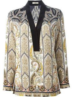 ETRO Paisley Print Blouse. #etro #cloth #blouse