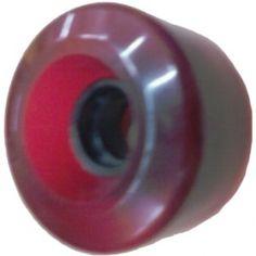 1WHNNKCR5 BLANK WHEELS SOFT CLEAR K RED 78A 65MM @ http://yourskateboardstore.com #skateboard