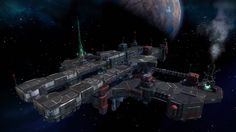 Relay // Starhawk Multiplayer // 3/5 Space Station, Portfolio Design, Ships, Portfolio Design Layouts, Boats