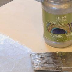 Rust Oleum American Accents Champagne Gloss Metallic Latex Interior Paint