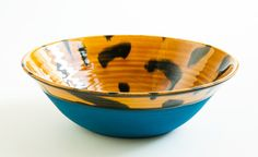 Tortoiseshell Open Bowl by Workaday Handmade, Brooklyn International Craft, Tortoise Shell, Serving Bowls, Brooklyn, Goodies, Hero, Craft Ideas, Ceramics, Tableware