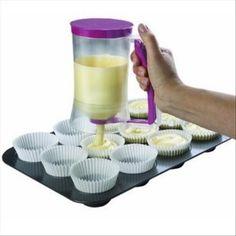 Cupcake batter dispenser. Perfect for any baker!