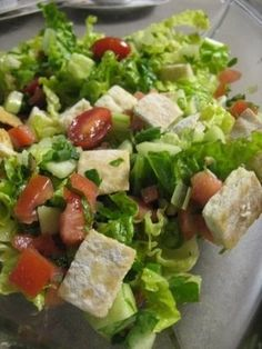 Yummy Mediterranean Salad - Healthy Apron