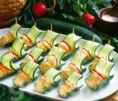 Cocktail, Sushi, Healthy Snacks, Food And Drink, Health Fitness, Appetizers, Drinks, Ethnic Recipes, Party