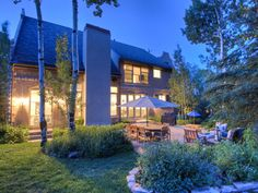 Outdoor living in the Colony, Park City, Utah