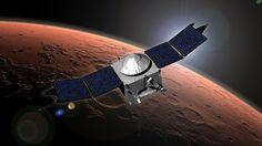 NASA spacecraft MAVEN avoids collision with Martian moon Phobos.