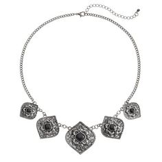 Mudd® Flower Marquise Necklace