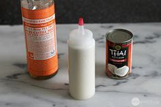 DIY Hair Shampoo Recipes ~ Coconut Milk Shampoo cup coconut milk cup liquid castile soap (like Dr. Bronner's) 1 tsp vitamin E, olive or almond oil 10 to 20 drops your choice of essential oils Homemade Beauty Products, Natural Cleaning Products, Coconut Milk Shampoo, Milk Soap, Limpieza Natural, Liquid Castile Soap, Castille Soap Shampoo, Glycerin Soap, Homemade Shampoo
