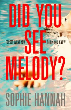 V Family Fun: Book Review - Did You See Melody? by Sophie Hannah...