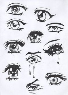 Basically every emotion seen in eyes