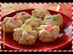 Biscuiti spritati ~ ReteteAngela - YouTube Potato Salad, Cauliflower, Vegetables, Breakfast, Ethnic Recipes, Sweet, Desserts, Food, Mai