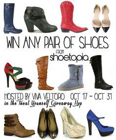 Shoetopia enter to win