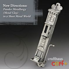 New Directions: Powder Metallurgy (Metal Clay) in a Sheet Metal World Part 2 - crafthaus Powder Metallurgy, Precious Metal Clay, Jewelry Tree, Fimo Clay, Sheet Metal, Sculpture Clay, Decorative Objects, Ceramic Art, Artisan Jewelry