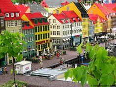 Legoland Billund in Denmark Hotel Berlin, Denmark Travel, Denmark Tourism, Hotels, Odense, Amazing Buildings, Copenhagen Denmark, Beautiful Places To Visit, Amazing Places