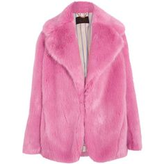 J.Crew J.Crew - Madison Faux Fur Coat - Pink