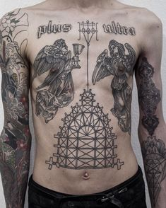 What is a woodcut tattoo? Woodcut tattoo ideas.
